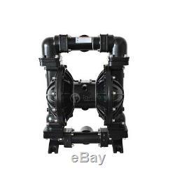 15GPM Air Operated Double Diaphragm Pump Santoprene 1/2'' Inlet 57L/min 8.4Bar