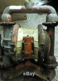 19'bl Wilden M4 Air Diaphragm Metal Pump 66