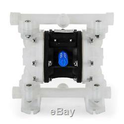1/2 Air Driven Double Diaphragm Pump Valve Balls Included bulk containers