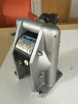1/2 Dellmeco Air Diaphragm PumpAluminium Body-Nitrile-EPDM-PTFE Balls & Seals