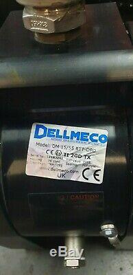 1/2 Dellmeco Air Diaphragm PumpPolyethylene Body-EPDM-PTFE