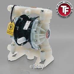 1/2 Graco Husky 515 / AT15/VA15 Air Diaphragm Pump (PVDF/Kynar/PTFE) D5EA11