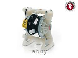 1/2 Graco Husky 515 PVDF Air Diaphragm Pump (PVDF/PTFE/PTFE) D55A11