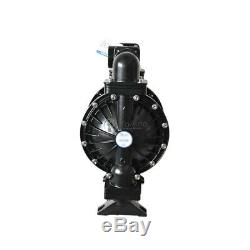 1/2'' Inlet Air-Operated Double Diaphragm Pump Teflon 41.5GPM Petroleum Fluids