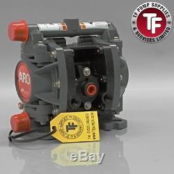 1/4 ARO Ingersoll-Rand Air Diaphragm Pump (Acetal/PTFE/ATEX) PD01E-HDS-DTT-A