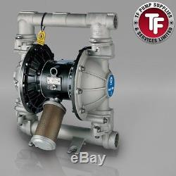 1.5 Graco Husky 1590 / AT40/VA40 Air Diaphragm ATEX Pump (316 SS/PTFE)- DBD311