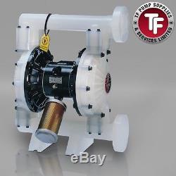 1.5 Graco Husky 1590 / AT40/VA40 Air Diaphragm Pump AODD (Poly/Sant)-DB2966