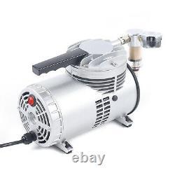 1 / 6HP Refrigerant Vacuum Pump Free Oil Lubrication Air Pump withDiaphragm
