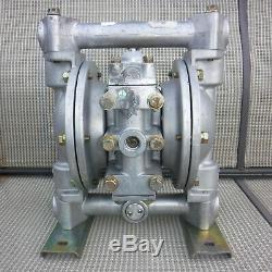 1 Aluminum, Air Operated Double Diaphragm Pump, Samson PN-75, SN 357603