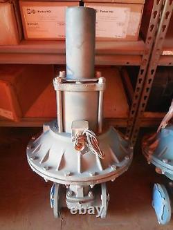 2 150# ITT Dia-Flo Diaphragm Valve 2-2529-TM-34-3252-P1 with Size 50 Air Motor