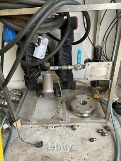 2 Graco Husky 2150 / Air Diaphragm Pump AODD ATEX (Ali/Geo) DFCGGG