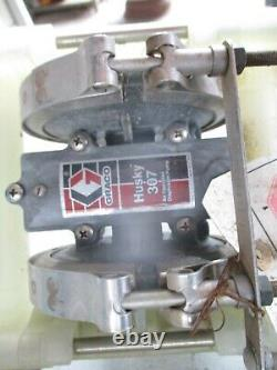 (2) Graco Husky 307 Air Operated Diaphragm Pumps
