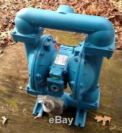 2 SANDPIPER/WARREN RUPP aluminum air diaphragm pump