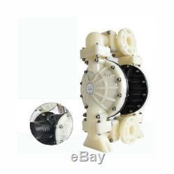 358L/min 94.6GPM Double Diaphragm Pump Air Operated 1/2'' NPT Air Inlet 8.4BAR
