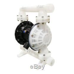 37GPM PP & Santoprene Air-Operated Double Diaphragm Pump 1/2'' Air Inlet 6.9 Bar