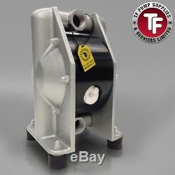 3/4 Dellmeco Air Diaphragm PumpAluminium Body-Nitrile-EPDM-PTFE Balls & Seals