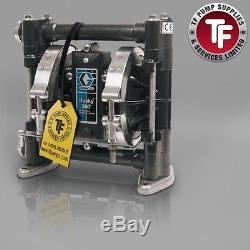 3/8 Graco Husky 307 / AT10/VA10 Air Diaphragm Pump ATEX (Acetal/PTFE)-D3A211