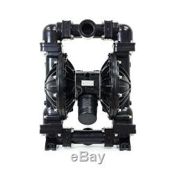 41.5GPM Air-Operated Double Diaphragm Pump Aluminium Buna-N, 1'' Inlet & Outlet