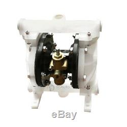 5.3GPM Air-Operated Double Diaphragm Pump Santoprene 1/2'' Inlet Chemical Pump