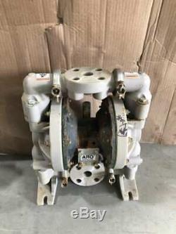 ARO 6661B3-344-C 1/4 PP/Steel Air Operated Double Diaphragm Pump 47GPM 120PSI