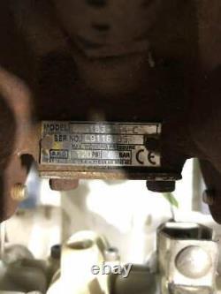 ARO 6661B3-344-C Polypropylene/CI Air Operated Diaphragm Pump 120PSI