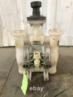 ARO 6661BF-344-C 1 Polypropylene Air Operated Double Diaphragm Pump 120PSI