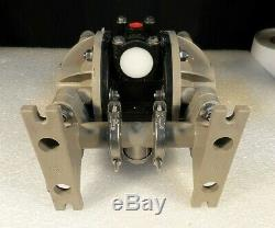 ARO Ingersoll-Rand 666053-388 Polypropylene Air Operated 2X Diaphragm Pump AS-IS
