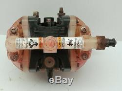 ARO Ingersoll Rand PD01P-HPS-PAA-A Double Diaphragm Pump Air 1/4 NPT 5.3 GPM
