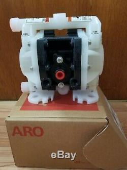 ARO PD01P-HKS-KTT-A 1/4 Polypropylene Air Double Diaphragm Pump 5.3 GPM 225F