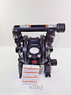 ARO PD07R-AAS-PTT Air Double Diaphragm Pump 14 GPM Ball Valve