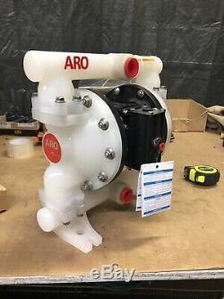 ARO PD10P-APS-PTT 1 Polypropylene Air Double Diaphragm Pump 53 GPM 150F