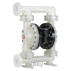ARO PD20P-FPS-PTT Diaphragm Pump, Air Operatd, 2,120 psi