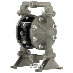 ATEX 1/2 ARO Air Diaphragm Pump Stainless Steel & PTFE diaphragms PD05R-ASS-STT