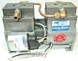 Air Dimensions DIA-VAC M19320N Double Head Diaphragm Pump