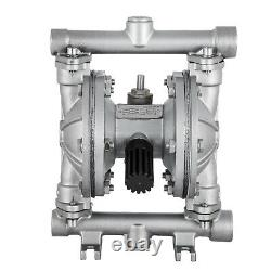 Air-Operated Double Diaphragm Pump 1/2inch Inlet and Outlet 12 GPM