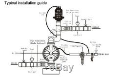 Air-Operated Double Diaphragm Pump 3/8'' Air Inlet Petroleum Fluids 15GPM 121PSI