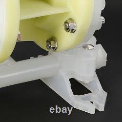 Air-Operated Double Diaphragm Pump 7GPM 1/2 Inlet & Outlet Petroleum Fluids DHL