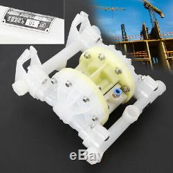Air-Operated Double Diaphragm Pump 7GPM 1/2 Inlet & Outlet Petroleum Fluids New