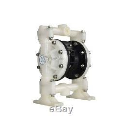 Air Operated Double Diaphragm Pump 94.6GPM 1/2''Air Inlet 8.4BAR PP & Santoprene
