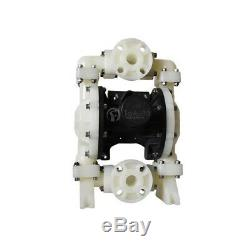 Air Operated Double Diaphragm Pump 94.6GPM 1/2'' Inlet Chemical Textile Industry