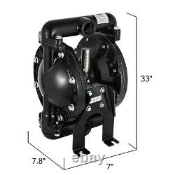 Air-Operated Double Diaphragm Pump Petroleum Fluids 35 GPM 1/2in. Air Inlet