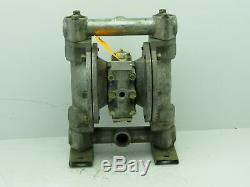 Air Pneumatic Diaphragm Pump Aluminum 1NPT (NO TAG) Tested