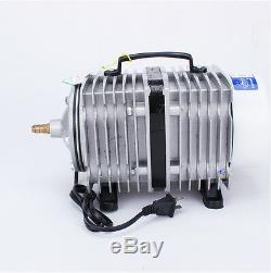 Air Pump Electromagnetic Aquarium Fish Pond Hydroponics Inflated Aerato 450L/min