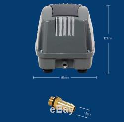 Air Pump, HAP-80 Hailea Hiblow Diaphragm Pump Aquarium Hydropomic KOI Fish