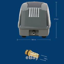 Air Pump Oxygen Pump, 100L/M Hailea Hiblow Air Diaphragm Pump For Fish Aquarium