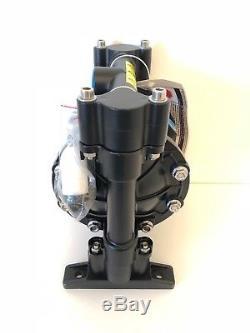 Air operated diaphragm pump Aluminium and Teflon /PTFE diaphragm 3/4'' NPT