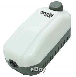 Ap3000 Precision Flow Aquarium Fish Tank Air Pump Super Quiet Airpump Control