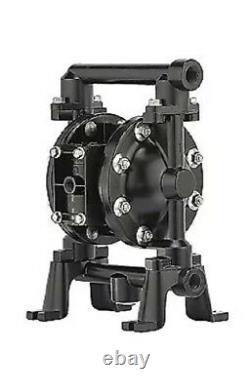 Aro 1/2 Air Double Diaphragm Pump 12 GPM 150F, PD05R-AAS-PAA-B