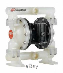 Aro 1 Air Double Diaphragm Pump 53 GPM 150F PD10P-APS-PTT PTFE Diaph NOS Tested