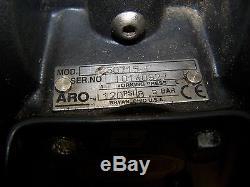 Aro 3/4 Aluminum Air Operated Double Diaphragm Pump 120 Psi Model 650715-c